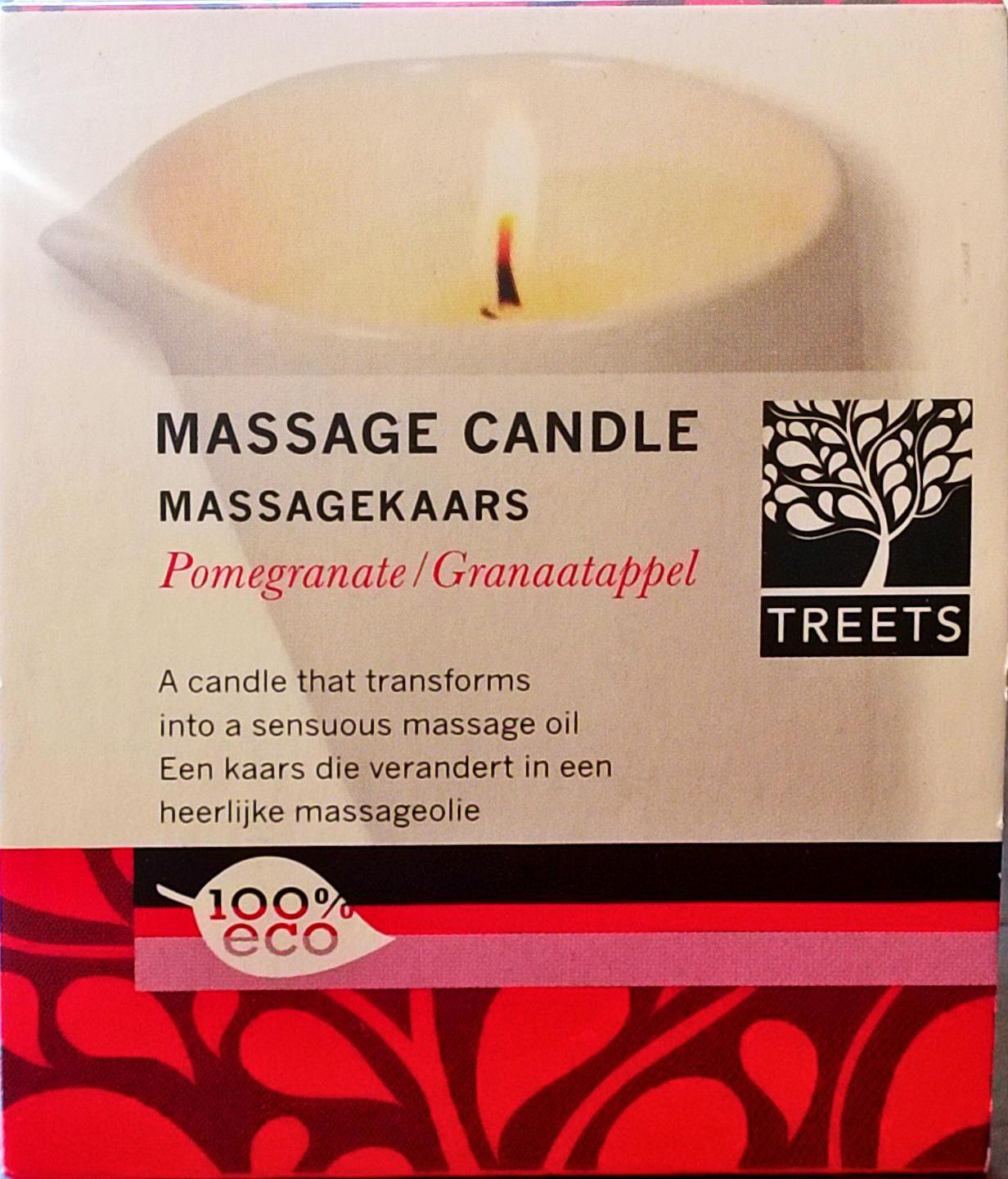MassageKaars Granaatappel