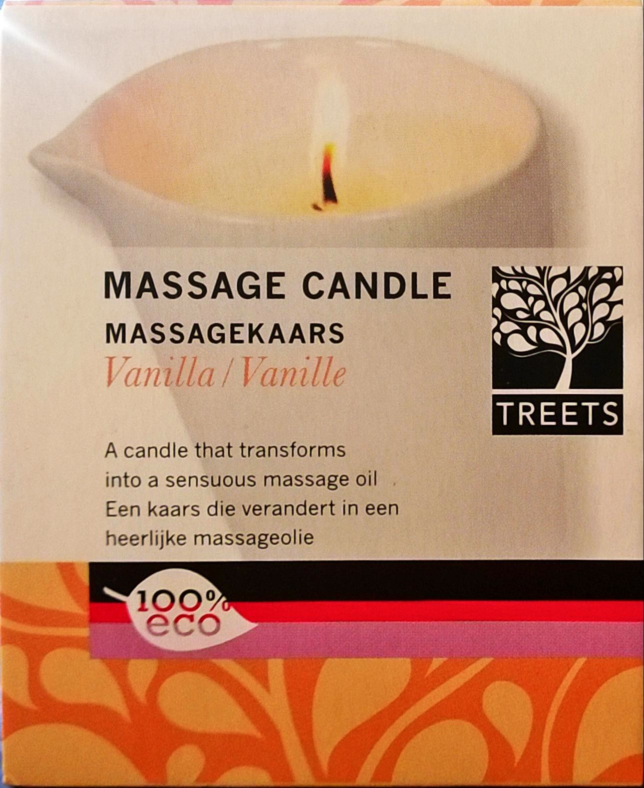 MassageKaars Vanille